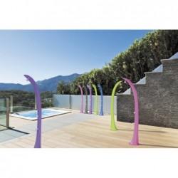 Dusche Solar Cobra Mit Griff Für Füße Rosa Ds-C720rs | Poolsweb