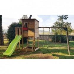 Kinderpark Mit Doppelschaukel Taga Masgames Ma700305
